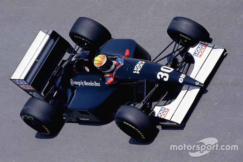 1993: J.J. Lehto, Sauber C12 Ilmor