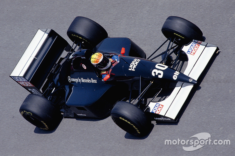 1993: Sauber C12 - Sauber (Mercedes)
