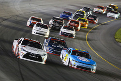 Kyle Benjamin, Joe Gibbs Racing Toyota and Daniel Hemric, Richard Childress Racing Chevrolet