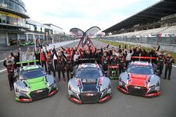 2017-kampioen Belgian Audi Club Team WRT