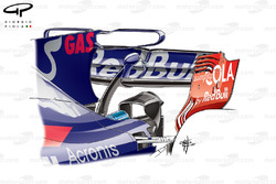 Toro Rosso STR12 T-wing, Malaysia GP