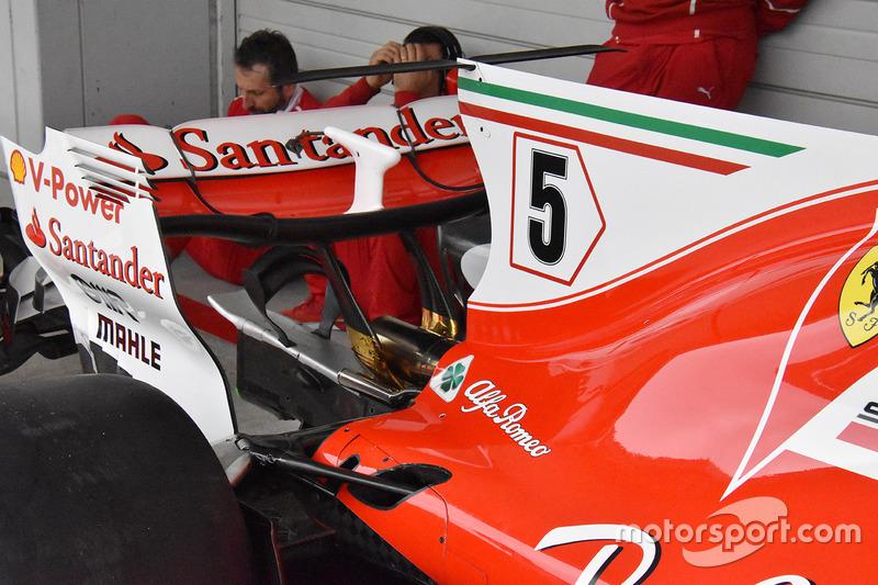 Задня деталь Ferrari SF70H