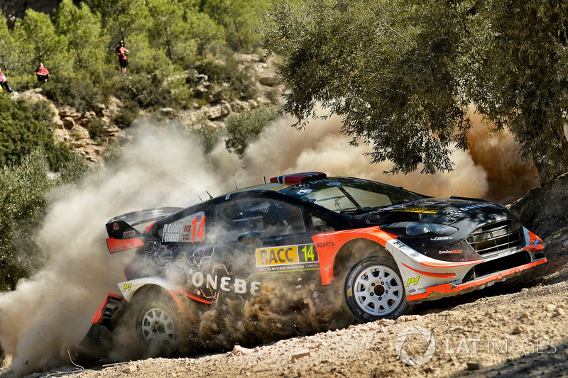 Mads Ostberg, Torstein Eriksen, M-Sport Ford Fiesta WRC