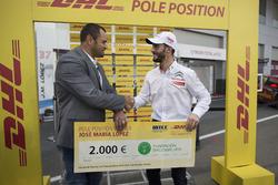 DHL Award for José María López, Citroën World Touring Car Team, Citroën C-Elysée WTCC