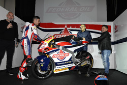 Fausto Gresini, Team Manager Federal Oil Gresini Moto2; Jorge Navarro, Federal Oil Gresini Moto2