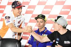 Marc Márquez, Repsol Honda Team, Valentino Rossi, Yamaha Factory Racing, Aleix Espargaró, Aprilia Racing Team Gresini