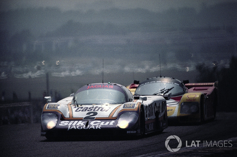 #2 Jaguar XJR-9LM: Jan Lammers, Johnny Dumfries, Andy Wallace
