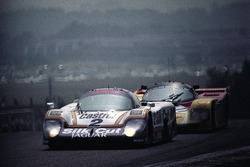 #2 Jaguar XJR-9LM Advanced: Енді Уоллес, Ян Ламмерс, Джонні Дамфріс