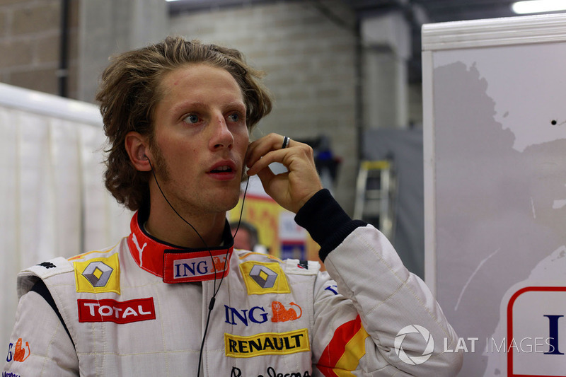 Romain Grosjean, Renault Sport F1 Team (2009)