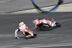 Sturz: Maximilian Kofler, Motorsport Kofler E.U.