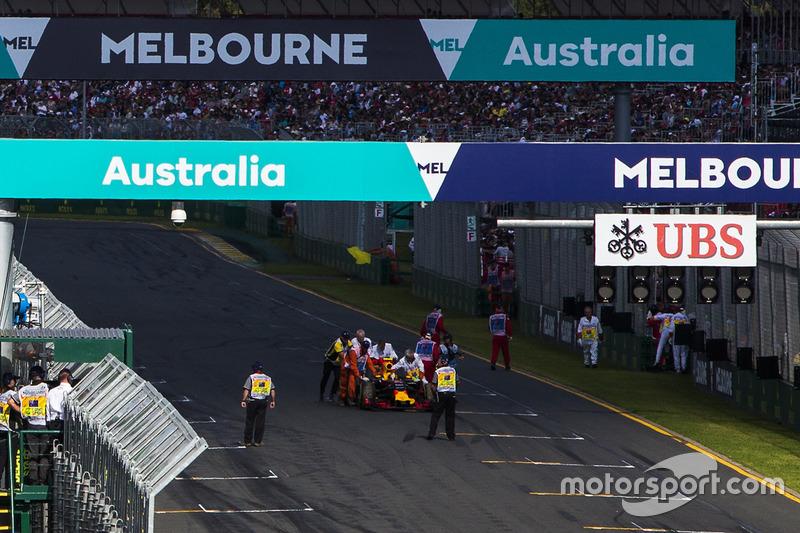 Даниилу Квяту не удалось стартовать в гонке в Австралии из-за механических проблем