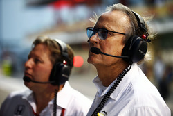 Zak Brown, McLaren Executive Director with Mansour Ojjeh, McLaren shareholder