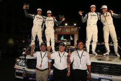 #327 Toyota: Christian Lavieille, Jean-Pierre Garcin; #332 Toyota: Akira Miura, Laurent Lichtleuchte