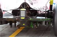 Sahara Force India VJM10, Heckdiffusor, Aero-Farbe
