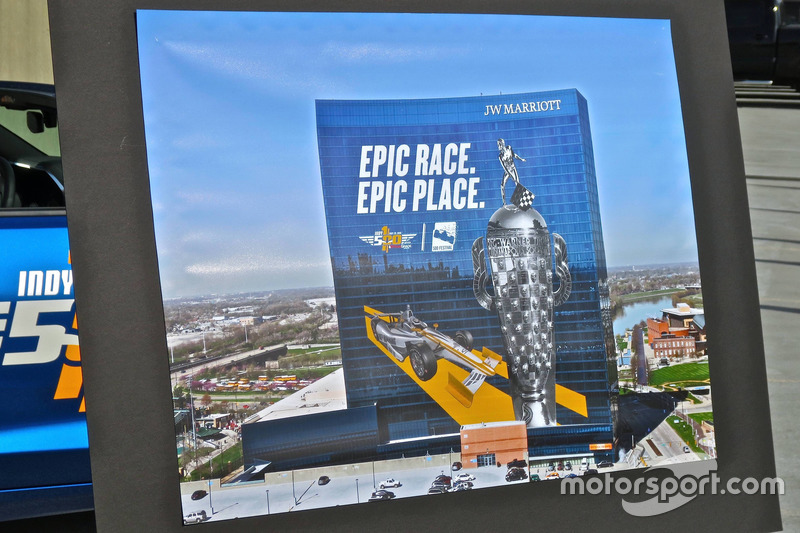 Borg Warner Trophy graphic unveiling