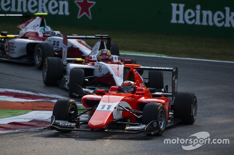 Jack Aitken, Arden International precede Charles Leclerc, ART Grand Prix e Nirei Fukuzumi, ART Grand Prix