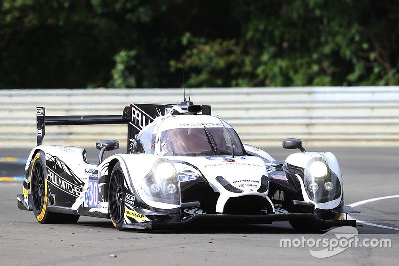 16th: #30 Extreme Speed Motorsports Ligier JS P2 Nissan: Scott Sharp, Ed Brown, Johannes van Overbeek