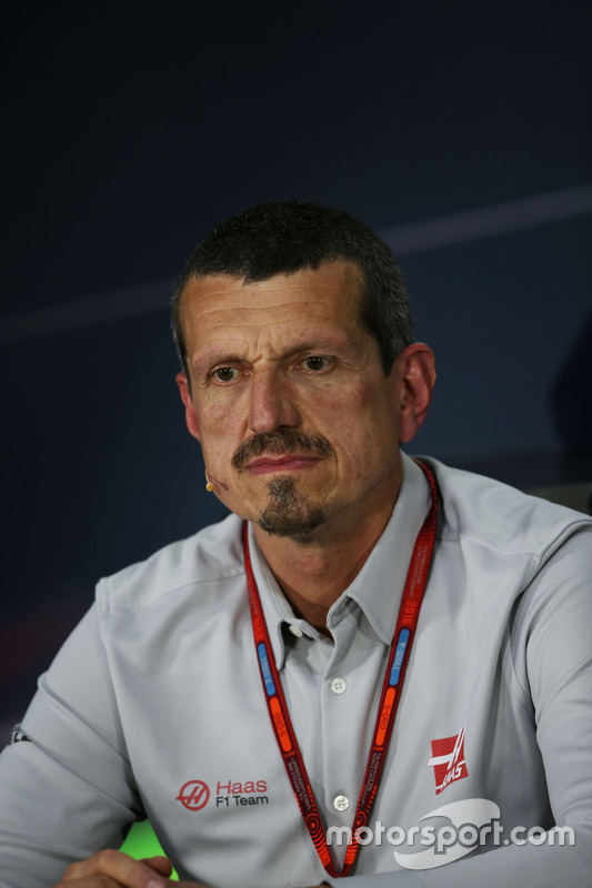 Guenther Steiner, Haas F1 Team Principal in the FIA Press Conference