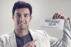 Sergio Pérez anuncio Renault 2016