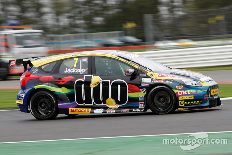 #7 Mat Jackson, Motorbase Performance, Ford Focus