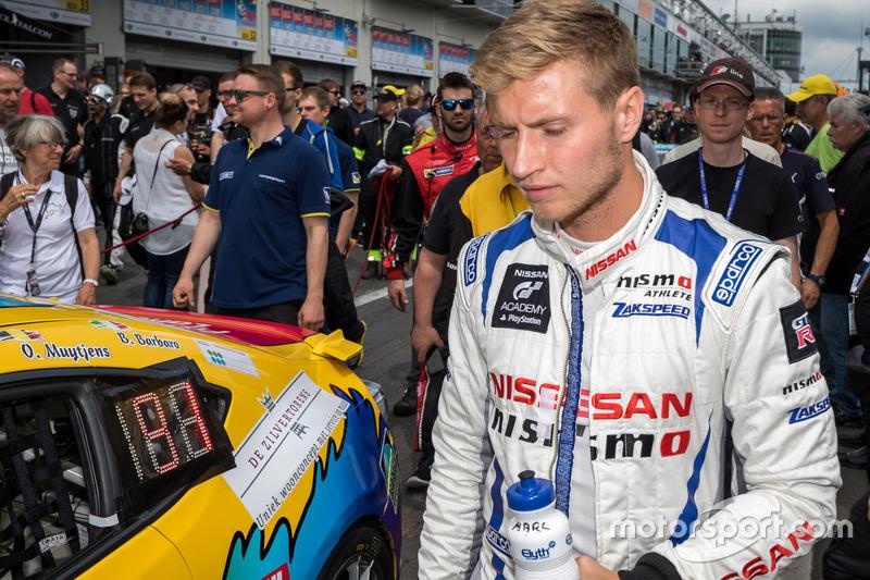 #24 Team Zakspeed, Nissan GT-R Nismo GT3: Marc Gassner