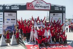 Победители - Крис Мик и Пол Нэгл, Citroën DS3 WRC, Abu Dhabi Total World Rally Team