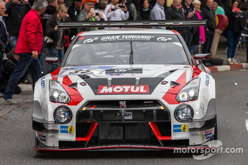 #35 Nissan GT Academy Team RJN, GT-R Nismo GT3: Michael Krumm, Lucas Ordonez, Kazuki Hoshino, Alex Buncombe