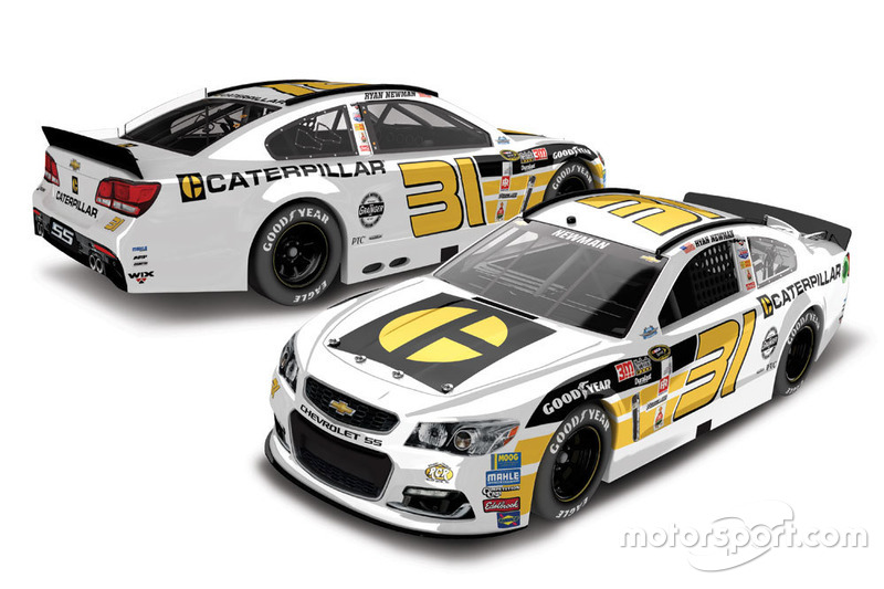 Ryan Newman, Richard Childress Racing throwback
