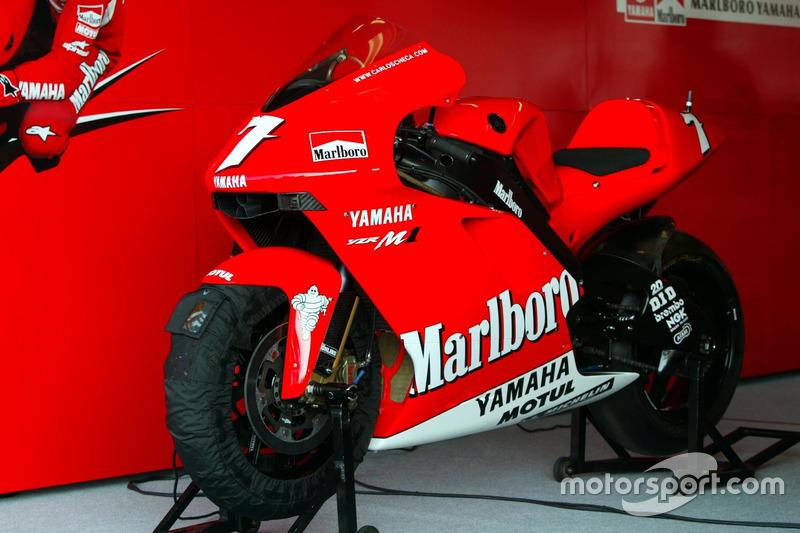 Bike of Carlos Checa, Marlboro Yamaha Team