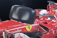 Ilustrasi benturan Halo Ferrari