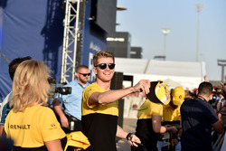 Nico Hulkenberg, Renault Sport F1 Team at the drivers autograph session