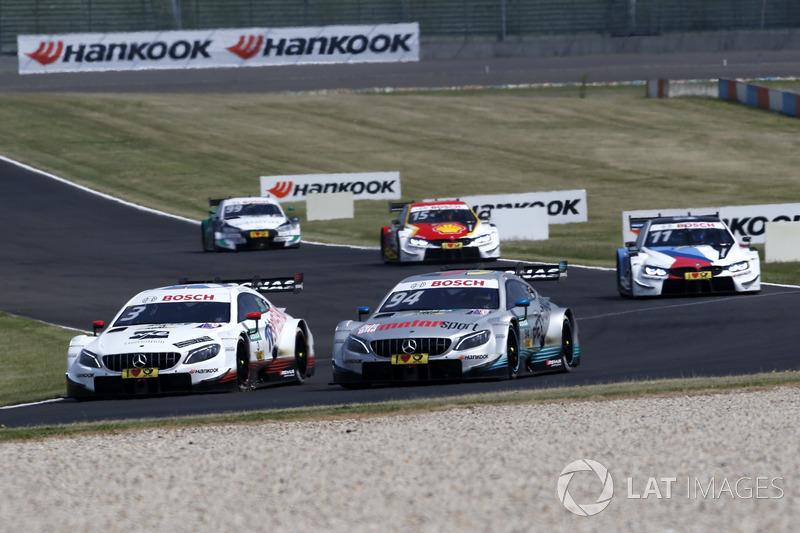 Paul Di Resta, Mercedes-AMG Team HWA, Mercedes-AMG C63 DTM, Pascal Wehrlein, Mercedes-AMG Team HWA, Mercedes-AMG C63 DTM