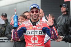 Third place Danilo Petrucci, Pramac Racing