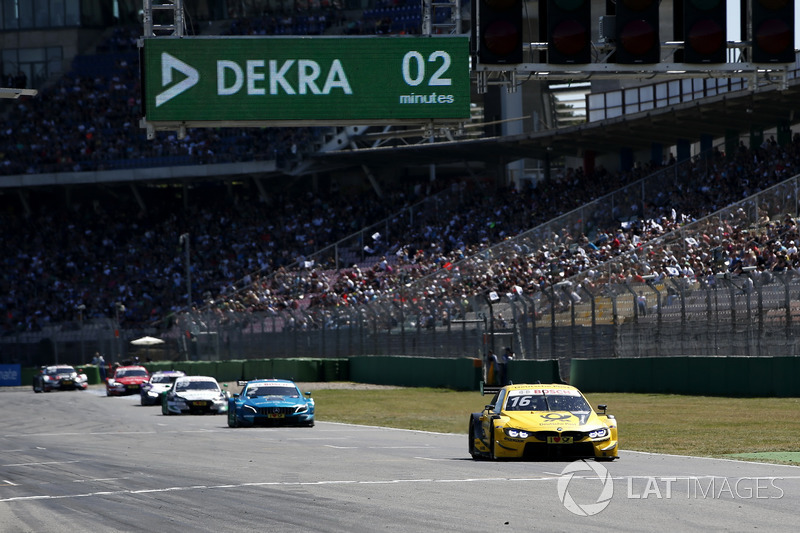 Timo Glock, BMW Team RMG, BMW M4 DTM leads