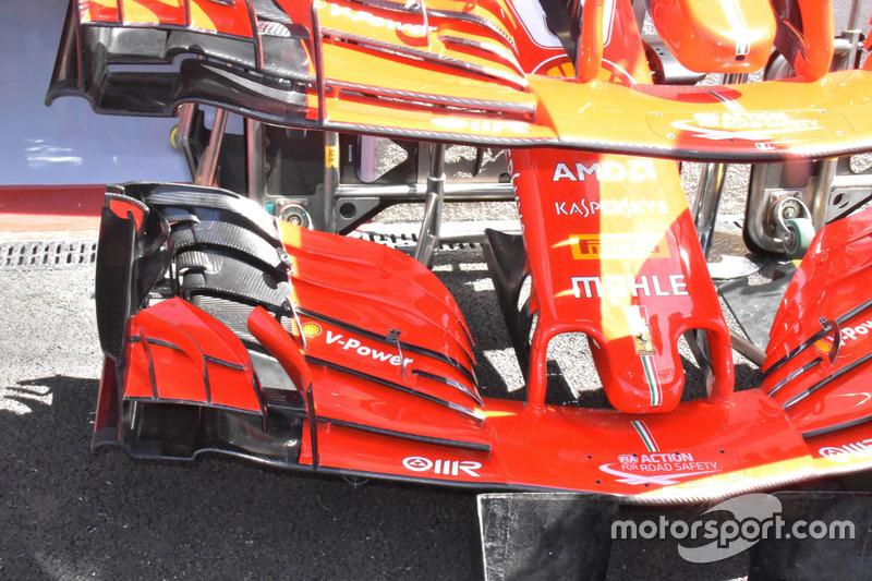 Переднее антикрыло Ferrari SF71H