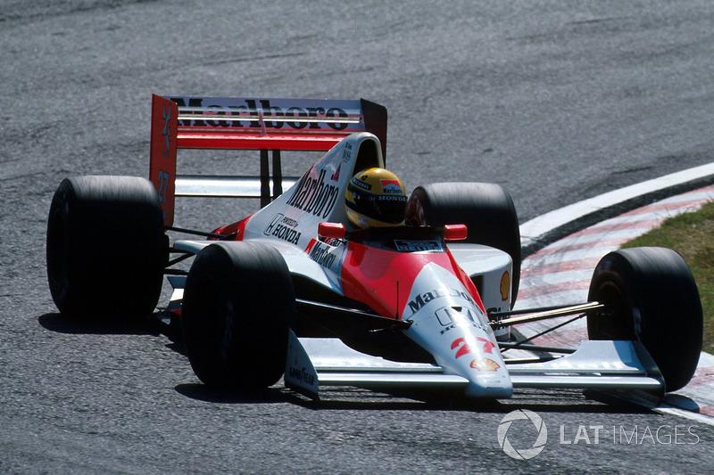 Айртон Сенна, McLaren MP4/5B Honda