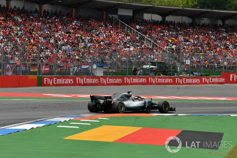 Germany: Lewis Hamilton