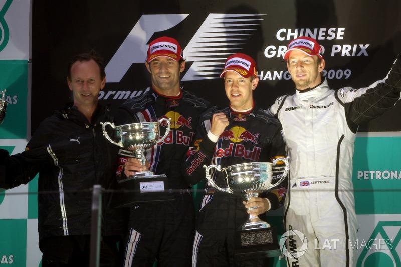 На Гран При Китая-2009 Red Bull Racing одержала первую победу в своей истории усилиями Себастьяна Феттеля