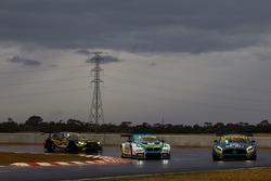 #63 Eggleston Motorsport Mercedes-AMG GT3: Peter Hackett, Dominic Storey , #100 BMW Team SRM BMW M6 GT3: Steve Richards