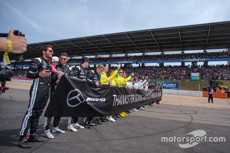 Все гонщики AMG Mercedes