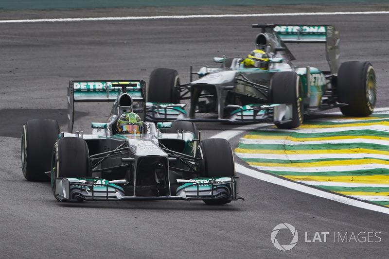 Lewis Hamilton, Mercedes W04, Nico Rosberg, Mercedes W04