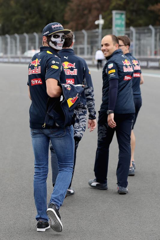 Trackwalk: Max Verstappen, Red Bull Racing
