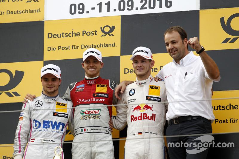 1. Edoardo Mortara, 2. Lucas Auer, 3. Marco Wittmann
