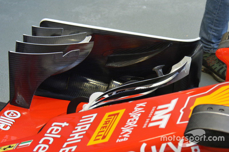 Ferrari SF16-H front wing detail