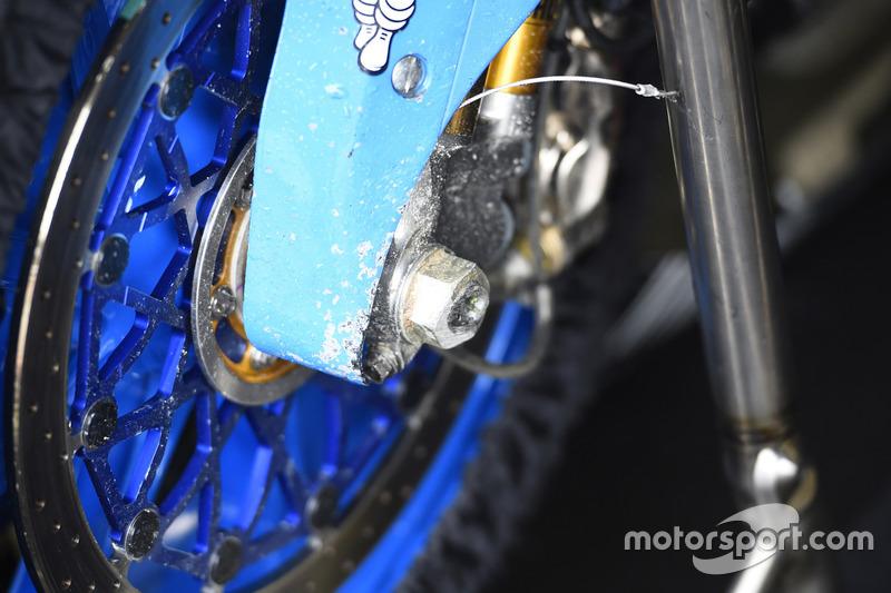 Kaza sonrası Jack Miller, Marc VDS Racing Honda