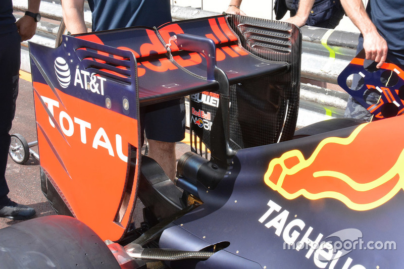 Red Bull Racing RB12, Heck Detail