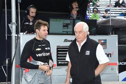 Will Power, Team Penske Chevrolet with Roger Penske