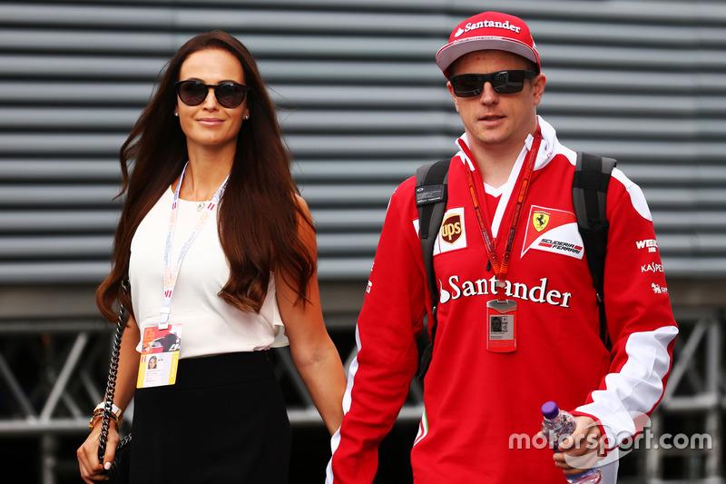 Kimi Raikkonen, Ferrari ve eşi Minttu Virtanen