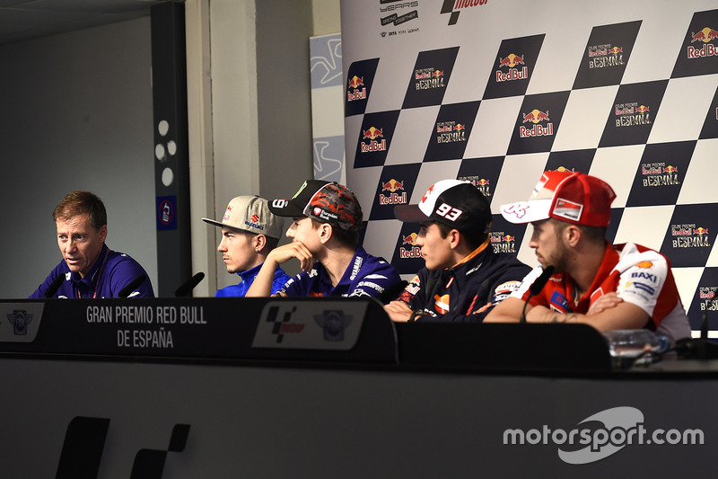Lin Jarvis, Maverick Viñales, Team Suzuki MotoGP, Jorge Lorenzo, Yamaha Factory Racing, Marc Marquez