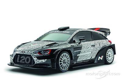 Hyundai Motorsport 2017 i20 WRC